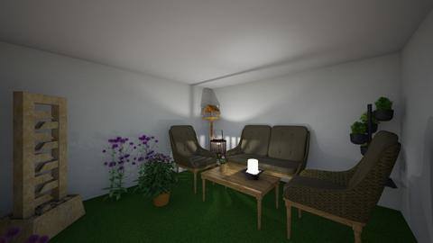 Terrazzo 1 APP IL GIGLIO  - Modern - Garden - by Homestagerweb