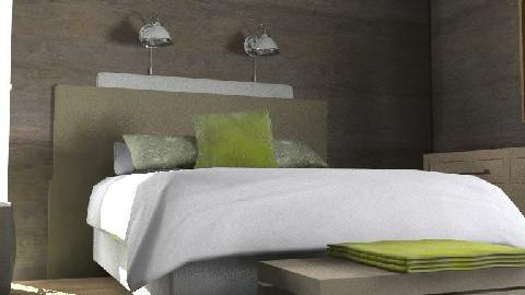 villamaatta_bedroom3 - Rustic - Bedroom  - by Dina1970