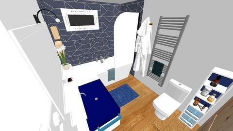 Wall tub Bathroom - Modern - Bathroom  - by moonchild665