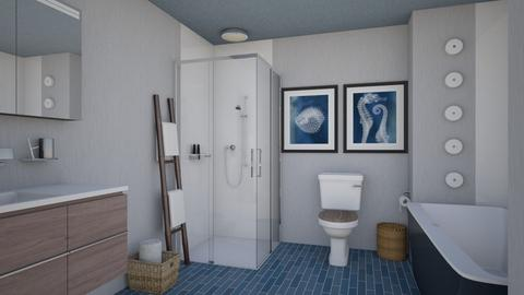 Blau Bathroom - Classic - Bathroom - by Psweets