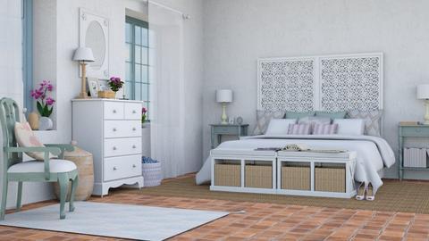 Rural y delicada - Rustic - Bedroom  - by Charipis home