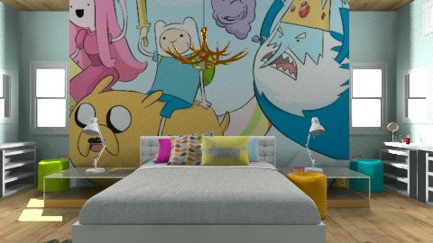 Adventure time - Eclectic - Bedroom  - by Amy Neil