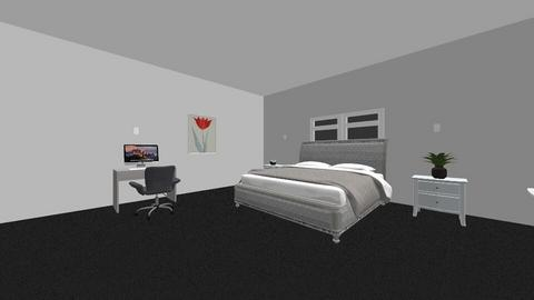 Final project room - Modern - Bedroom  - by RunnersVision