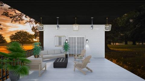 porch - Garden  - by CaoSil
