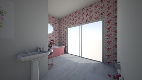 Cherry Blossom Bathroom - Bathroom  - by Maple34