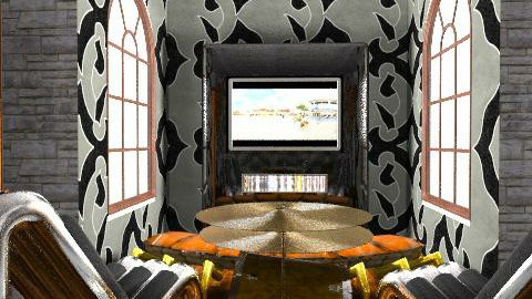 Sony Home Media Grotto iii - Living room - by SAW95