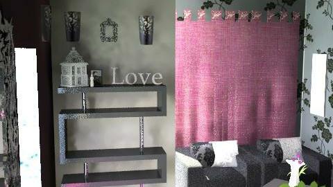 Elegant Shadows - Glamour - Living room  - by HazelMP