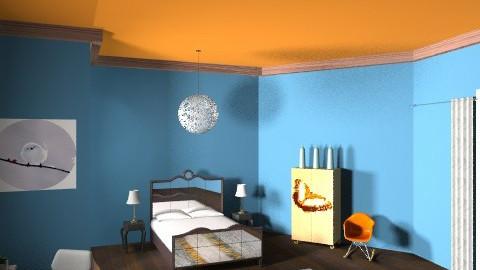 kadees room - Country - Bedroom  - by kadee1111