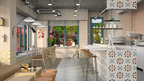 Corner Cafe - by dominicjames