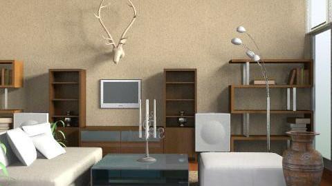 Gerru H - Rustic - Living room  - by SariJo