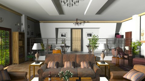 my dream room - Classic - Living room  - by GALE88