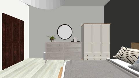 scandinavian room - Bedroom - by ellejay_1207