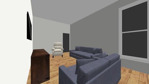 Barbara - Living room  - by tarareddystyle