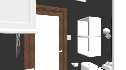 salle de bain/ plan 9 - Retro - Bathroom  - by Yellow1806