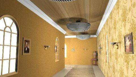 Endless Hallway - Vintage - Hallway  - by haSo0n