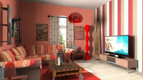 spanish style - Glamour - Living room  - by Designerloft