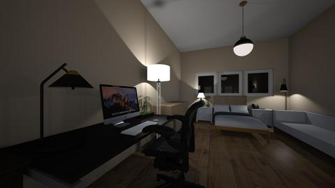 Habitacion 5 - Office  - by juancruzjy