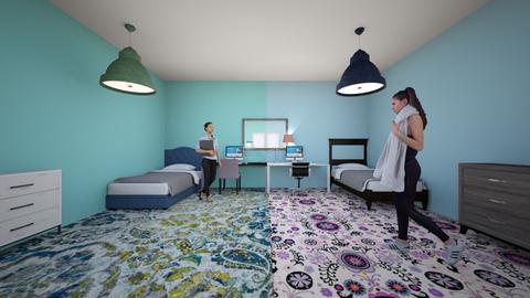 twin room - by Rose Furtaw
