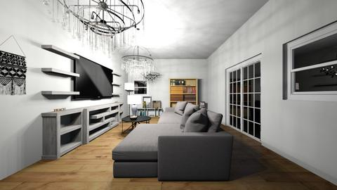 Beach house living room - Living room  - by WHATEVER LOL