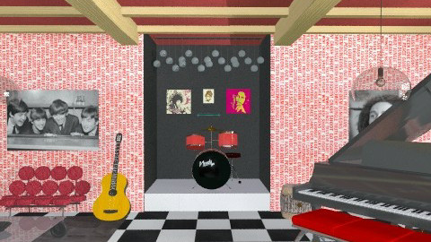 Music Room - Retro - by stargurl90008