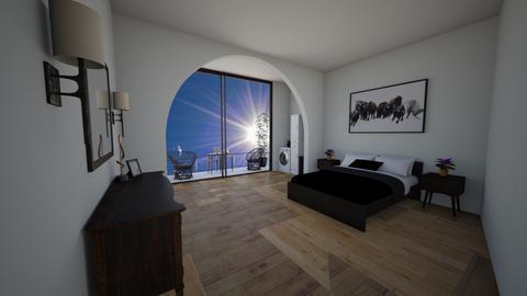 Future balcony - Modern - Bedroom  - by Merily