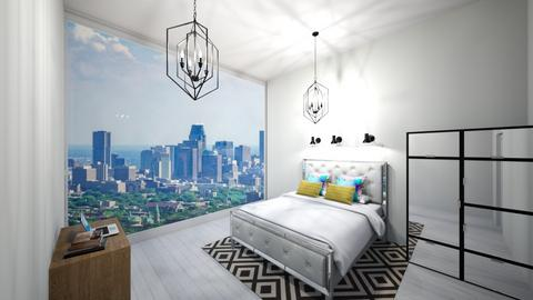 City Living - Bedroom - by Itsjustme1