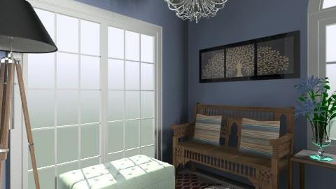 cool corner - Rustic - Living room - by dancergirl1243