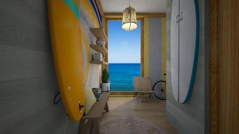 Sunny Hallway - Minimal - Living room  - by kristenaK