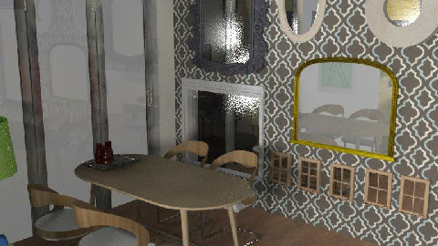 mirrors all over the dine* - Dining Room  - by dian sarita radjiman