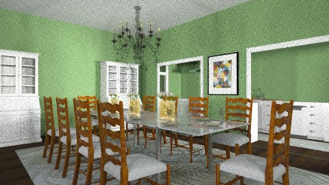 the country dining room - Rustic - by aslattery18