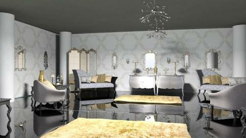 poshness - Glamour - Living room  - by trees designs