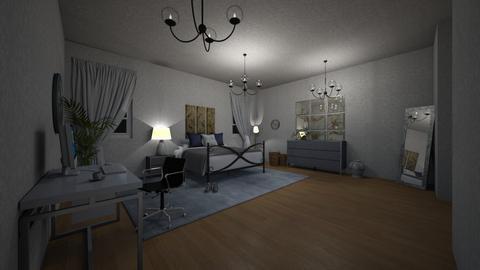 Room - Bedroom  - by yukicrossnowblood