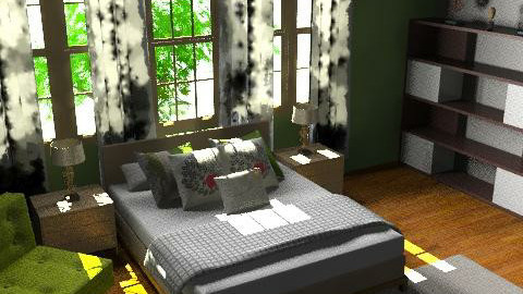 bedroom 1 - Minimal - Bedroom - by lovelieshatred