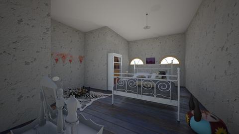 shabby chic bedroom  - Bedroom  - by noadesign