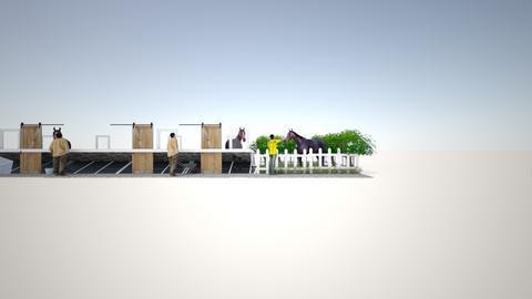 stable - Vintage - Garden  - by Avaxxx