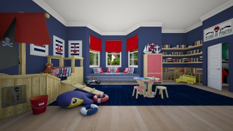Little Boys - Bedroom - by crosette
