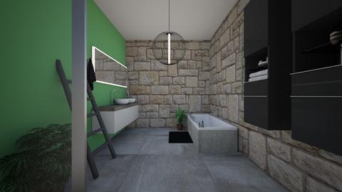 my bathroom - Bathroom  - by Meghan White