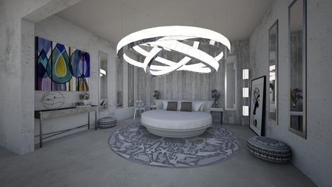 Glam Hideaway - Glamour - Bedroom - by GraceED