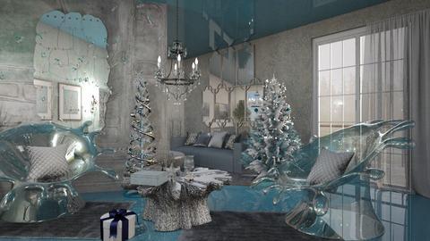 Icy Christmas - by ZsuzsannaCs