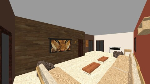 Youth Room - Rustic - Living room  - by kdunnleblanc