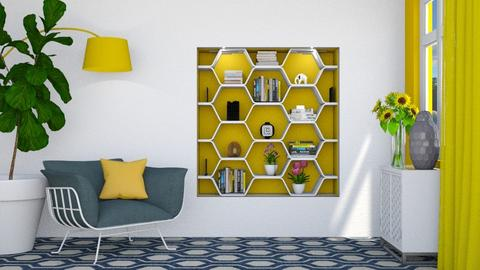 Bee - Living room  - by Laurika