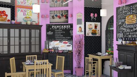 pinkys pancake bar - by Teri Dawn