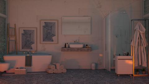 Art Deco Bathroom - Bathroom  - by karina ae