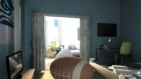boys - Bedroom - by Rocklover101