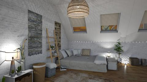 2 Boho Bedroom - Bedroom - by BFactor