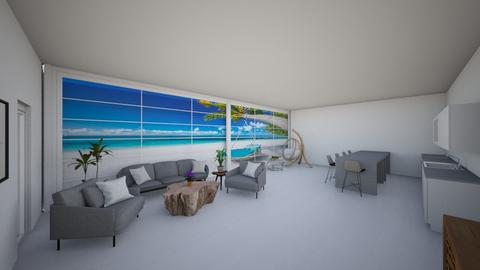 Summer House To Tanem - Living room  - by cagla_deniz_