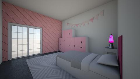pink room wow - Modern - Kids room  - by mati07