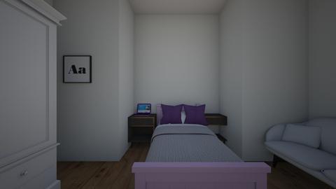 la habitacion - Modern - Bedroom  - by Mena_Club
