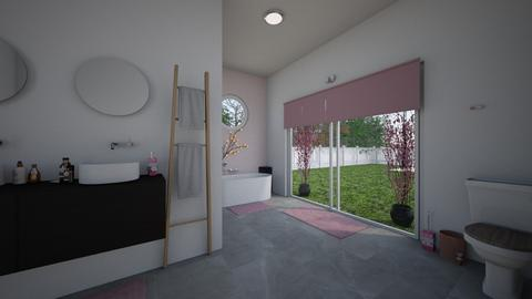 Cherry Blossom Bathroom - Bathroom  - by ashley_rose04