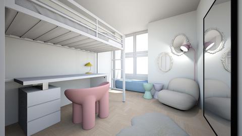 dorm - Bedroom  - by fer2005